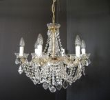 MARIA THERESA GLASS CLAD CHANDELIERS